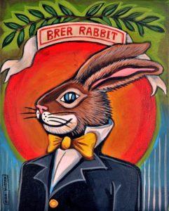 Brer Rabbit, Acrylic on Canvas, 20x16