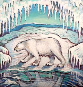 Arctic Melt, Acrylic on Canvas