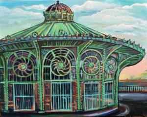 Asbury Park, Acrylic on Canvas