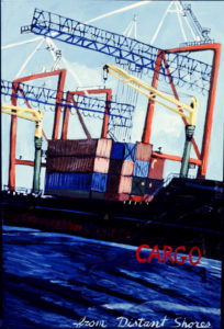 Cargo, Acrylic on Canvas