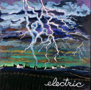 Electric, Acrylic on Canvas