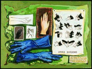 Hand Shadows, Acrylic on Canvas
