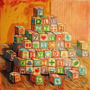 Language Fundamentals, Acrylic on Canvas