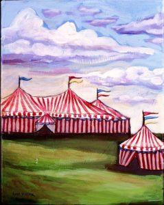 Little Big Top, Acrylic on Canvas