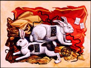 Mechanical Rabbits, Acrylic on Canvas