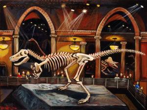 Natural History, Acrylic on Canvas