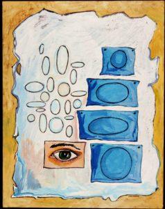 Optical, Acrylic on Canvas