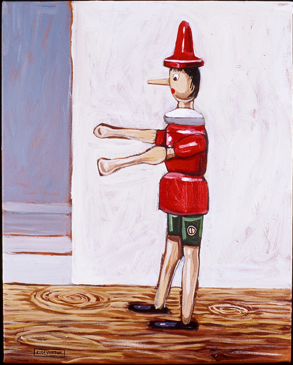 Pinocchio, Acrylic on Canvas