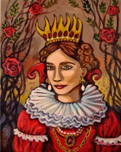 The Red Queen, Acrylic on Canvas