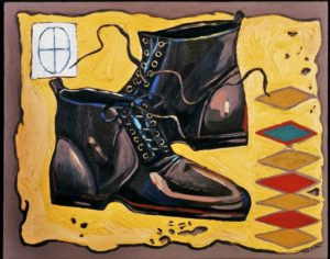 Shoes, Acrylic on Canvas