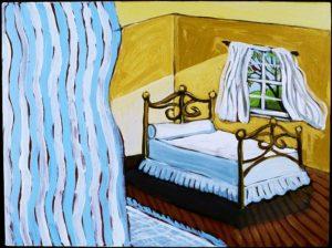 Sunday Morning, Acrylic on Canvas