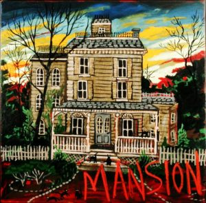 The Mansion, Acrylic on Canvas