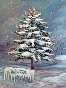 Winter, Acrylic on Canvas